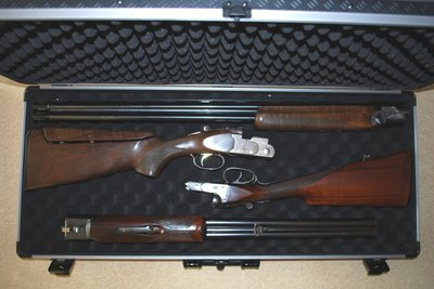 Napier vapenkoffert för dubbla hagelgevär