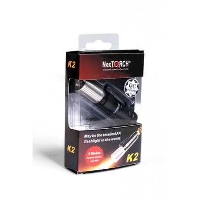 Nextorch K2 Professional LED-lampa i pocket-format