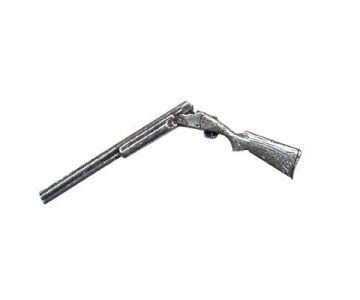 Pin i metall - Brutet hagelgevär
