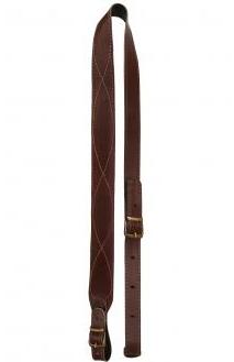 Leather sling gevärsrem